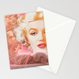 Marilyn Collage Portrait 1 Stationery Cards