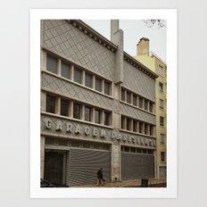 Lisboa Art Deco #07 Art Print