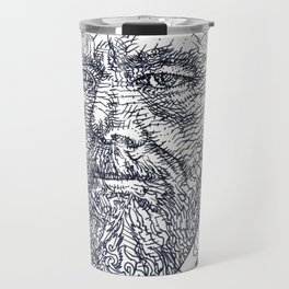FYODOR DOSTOYEVSKY - ink portrait Travel Mug