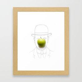 The Son of Man Framed Art Print