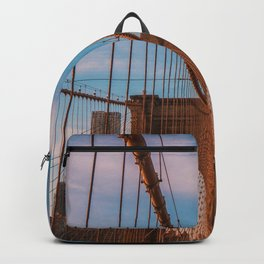 New York City Bridge (Color) Backpack