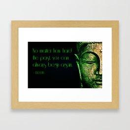 Buddha 4 Framed Art Print
