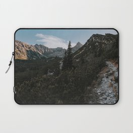 Into the mountains - Landscape and Nature Photography Laptop Sleeve