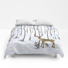 Winter Deer Comforters