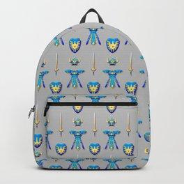 Erdrick's Equipment - Light Grey Backpack