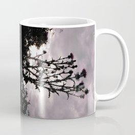Palm Weeds - Upside Up V Coffee Mug