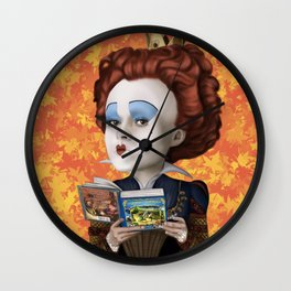 Queen of Hearts TLOS Wall Clock