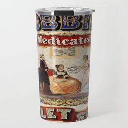 Vintage poster - Dobbins Medicated Toilet Soap Travel Mug