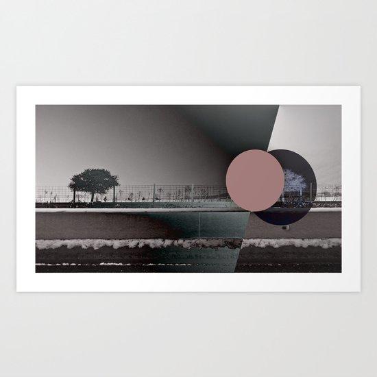 Orbference 01 Art Print