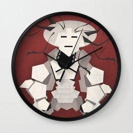 """MaGa"" Warriors - Wezteka Union Wall Clock"
