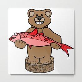 Northwest Bear Metal Print