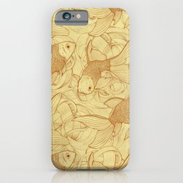 Vintage Goldfishes II iPhone Case