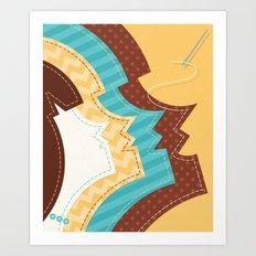 Sew Happy Art Print