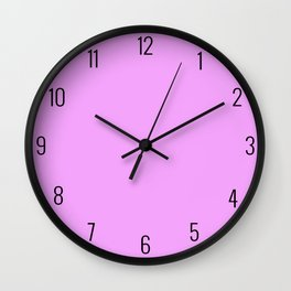 Sweet Amethyst Wall Clock