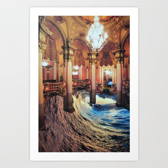 Grand Waveroom Art Print