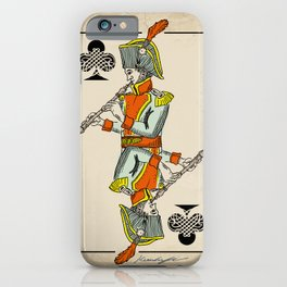 musical poker / Baroque oboe iPhone Case