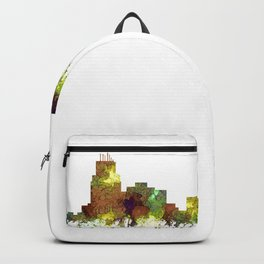 Durham, NC Skyline SG - Safari Buff Backpack