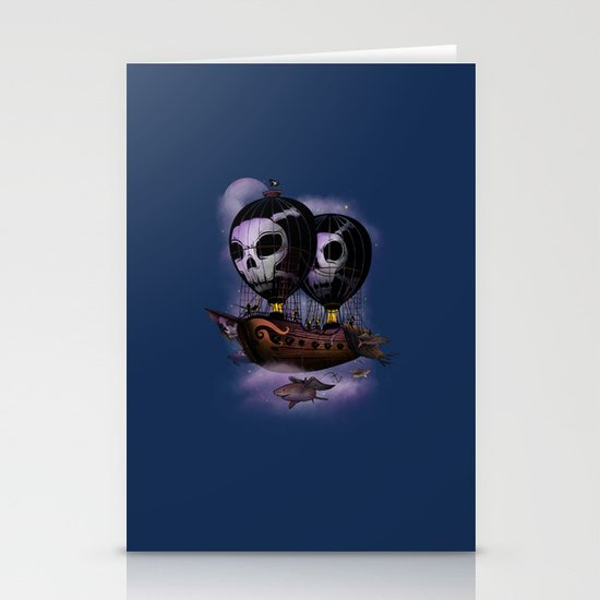 Hot Air Pirates Stationery Cards