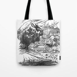 River Copper Mine Tote Bag