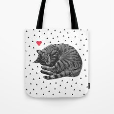 Little ball of fur Tote Bag