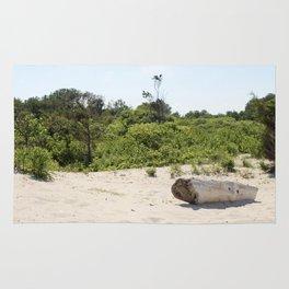 Driftwood on Assateague Island Rug