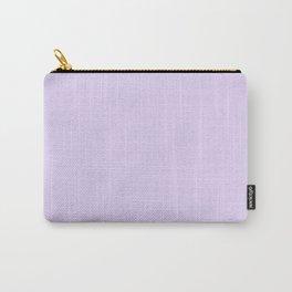 Pastel Purple - Lilac - Lavender - Solid Color Carry-All Pouch