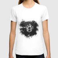 bleach T-shirts featuring Bleach BW 2 by Bradley Bailey