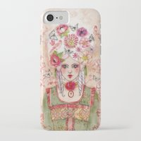 marie antoinette iPhone & iPod Cases featuring Marie-Antoinette by Minasmoke