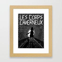 Les corps caverneux (Corpora cavernosa) Framed Art Print