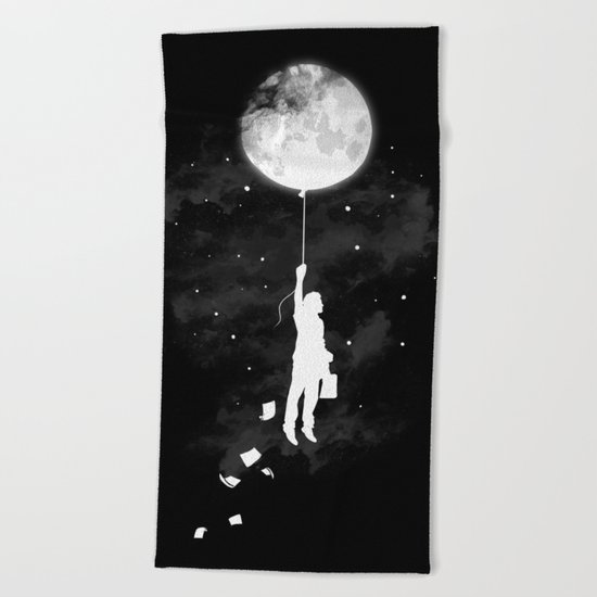 Midnight Traveler Beach Towel