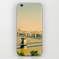 budapest iPhone & iPod Skins featuring Budapest  by Arevik Martirosyan