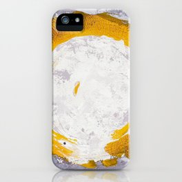 Enso Of Daisies 2 iPhone Case
