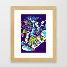 skatevillain Framed Art Print