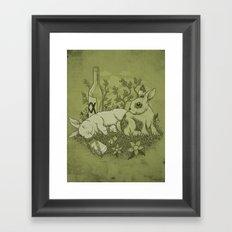 Easy Lover Framed Art Print