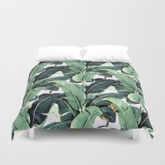 Tropical Banana Leaf Duvet Cover