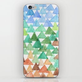Forest of Tris iPhone Skin