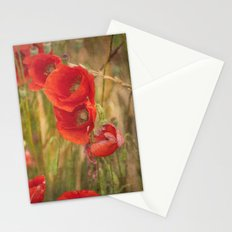 Poppies...... Stationery Cards