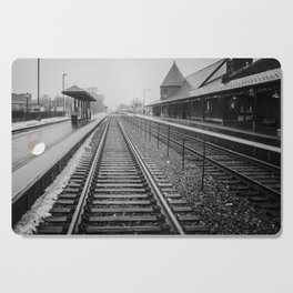 Winter Commute Cutting Board