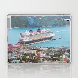 View of our ship Tortola Laptop & iPad Skin
