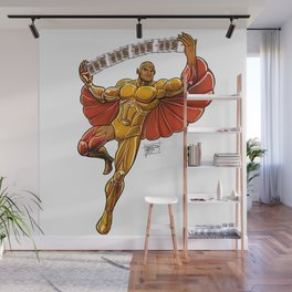 Hotwing Wall Mural