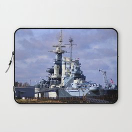 USS North Carolina BB-55 Laptop Sleeve
