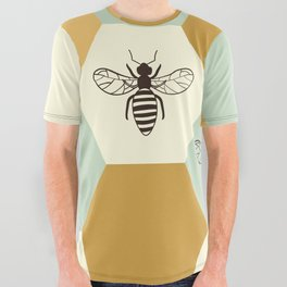 Beehive All Over Graphic Tee