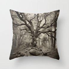 Old Oak Dark  Throw Pillow