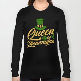 Queen of Shenanigans Long Sleeve T-shirt