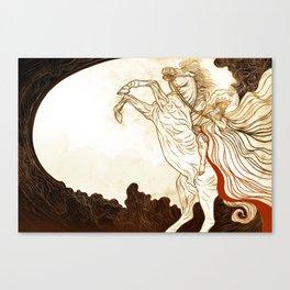 Faithful and True Canvas Print