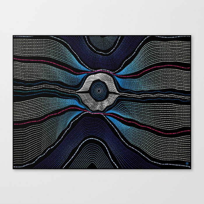 Modern Aboriginal 2 Canvas Print
