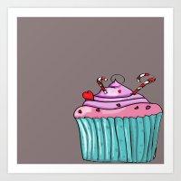 cupcacke Art Print
