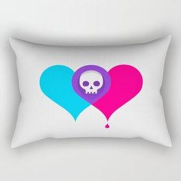 A Death-Marked Love Rectangular Pillow