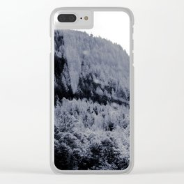 THE TREES III Clear iPhone Case