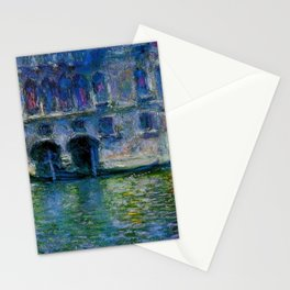 Claude Monet Palazzo da Mula, Venice Stationery Cards